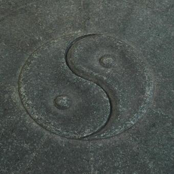 ying yang sten